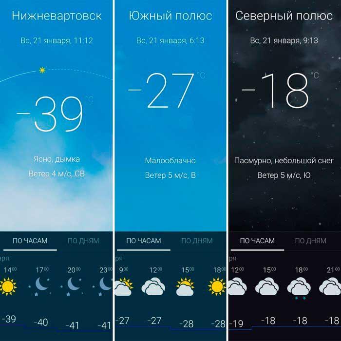 Русские холода