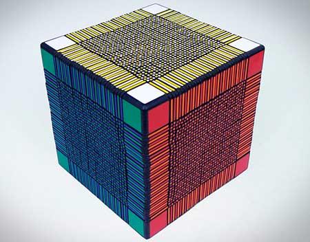 кубик Рубика 33×33×33