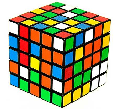 кубик Рубика 5×5×5