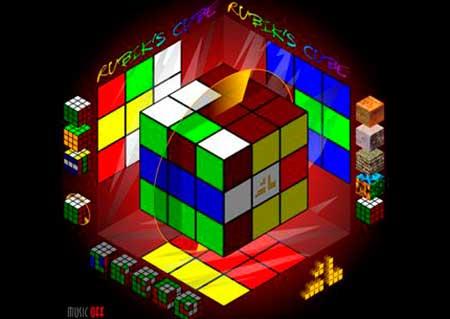 Виртуальный кубик Рубика