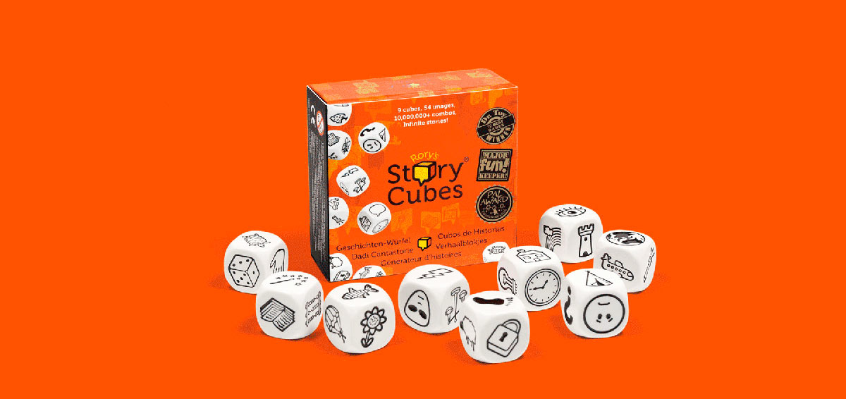 Кубики Историй Rory's Story Cubes - как играть, виды, история